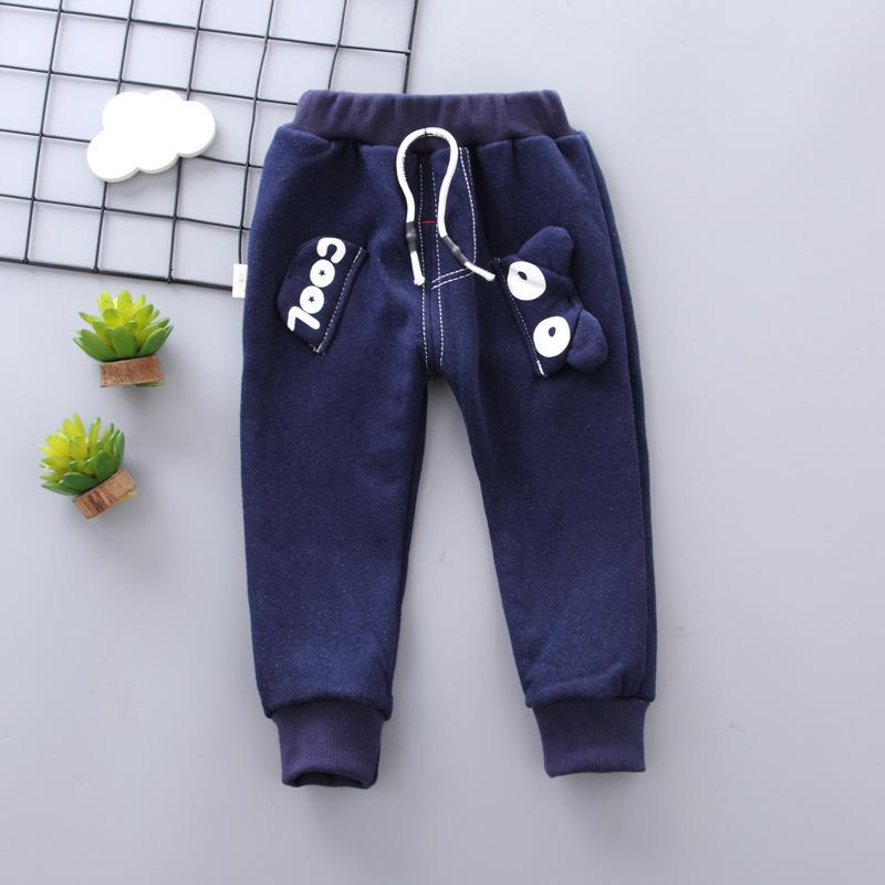 good quality Newborn Thick Pants 2019 Autumn Winter Infant Baby Boys Plus Velvet Thickening Closing Trousers Fit For 0-2Y Baby