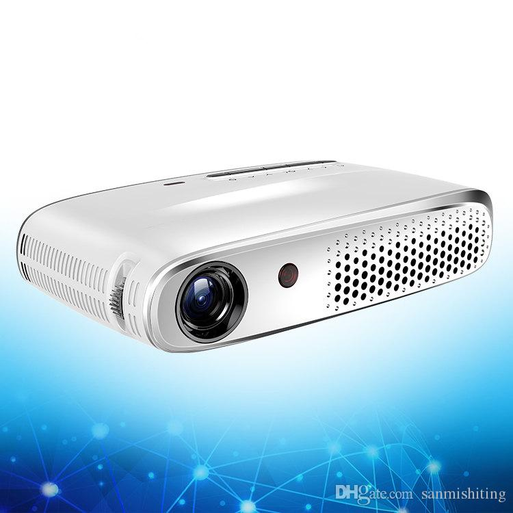 M-602 LED Projector 1000 Lumens Projector 1080P Projection Machine with USB HDMI VGA AV Micro SD Slot Remote Controller Mini Cool DHL