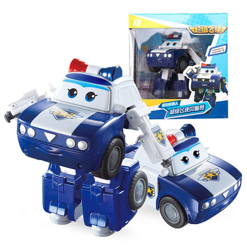 2018 New Season 5 Big Super Wings Deformation Airplane Robot Action Figures Super Wing Neo/Astro/Scoop Transformation toys Y190530
