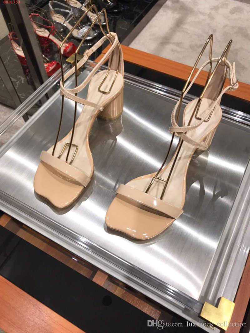 1d67ca74e7febf Großhandel 2019 Neueste Classic Damen High Heels Sandalen