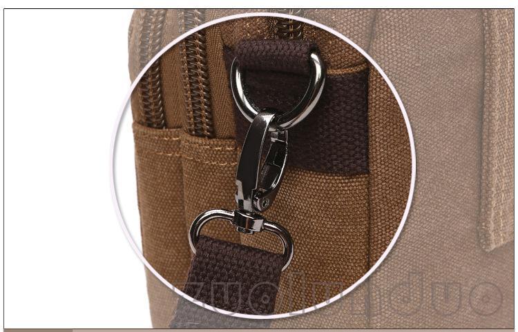 Novo Projeto 2019 Homens Lona Pequeno Saco Do Mensageiro de Alta Qualidade Bolsas Casuais Crossbody Sacos de Ombro Bolsa Militar an682