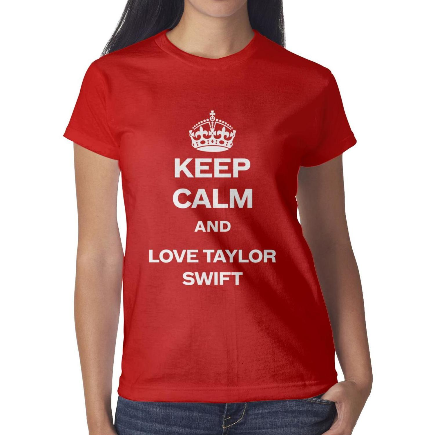 Keep calm and love Taylor Swift red t shirt,shirts,t shirts,tee shirts  shirt design funny designer custom casual t shirt