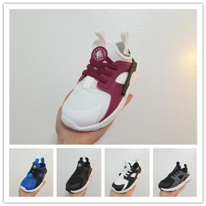 d1af47d4e9 2019 Kids Huarache Ultra Infant Toddler Boys Hurache Running Shoes  Chaussures Pour Enfants Huraches Sports Children Sneakers Trainers Munro  Shoes Pink Shoes ...