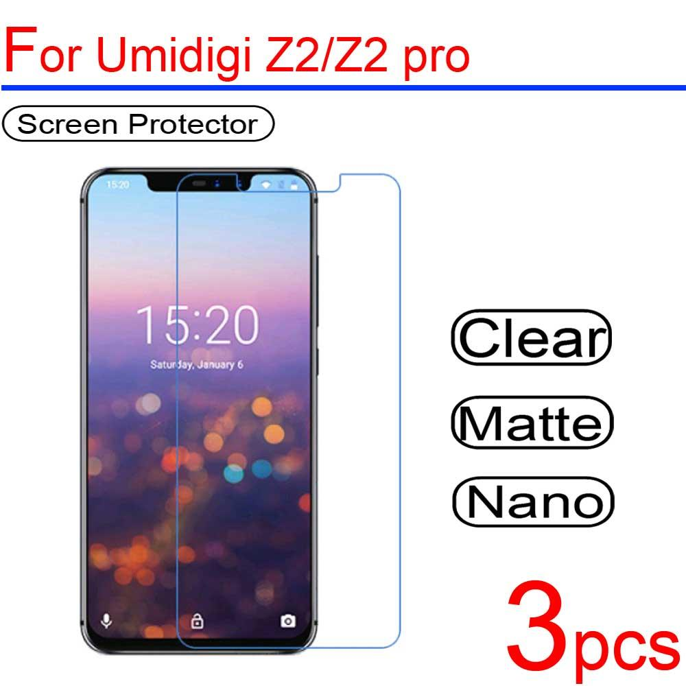 3pcs Ultra Clear PET Soft LCD For Umi C note 1/2 A1 Screen Protectors Guard  Cover for Umidigi Z Z1 Z2 A1 pro Protective Film