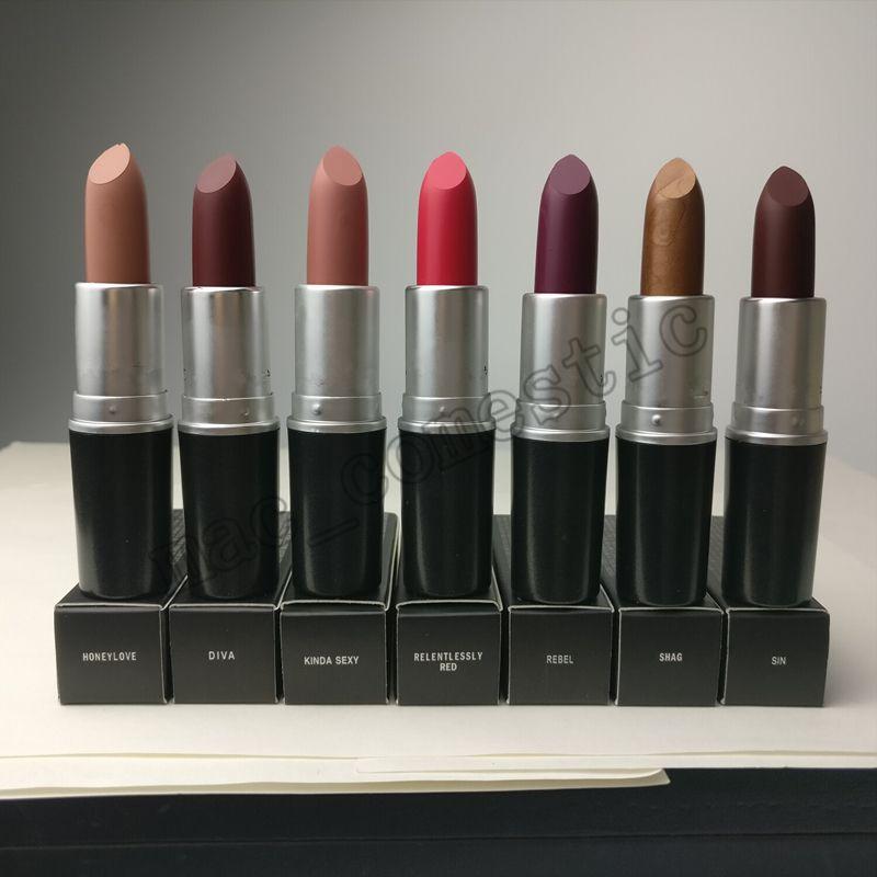 Woo Lipstick Luster Matte Roby Makeup Retro M Lipsticks Velvet Teddy vm8ONn0w
