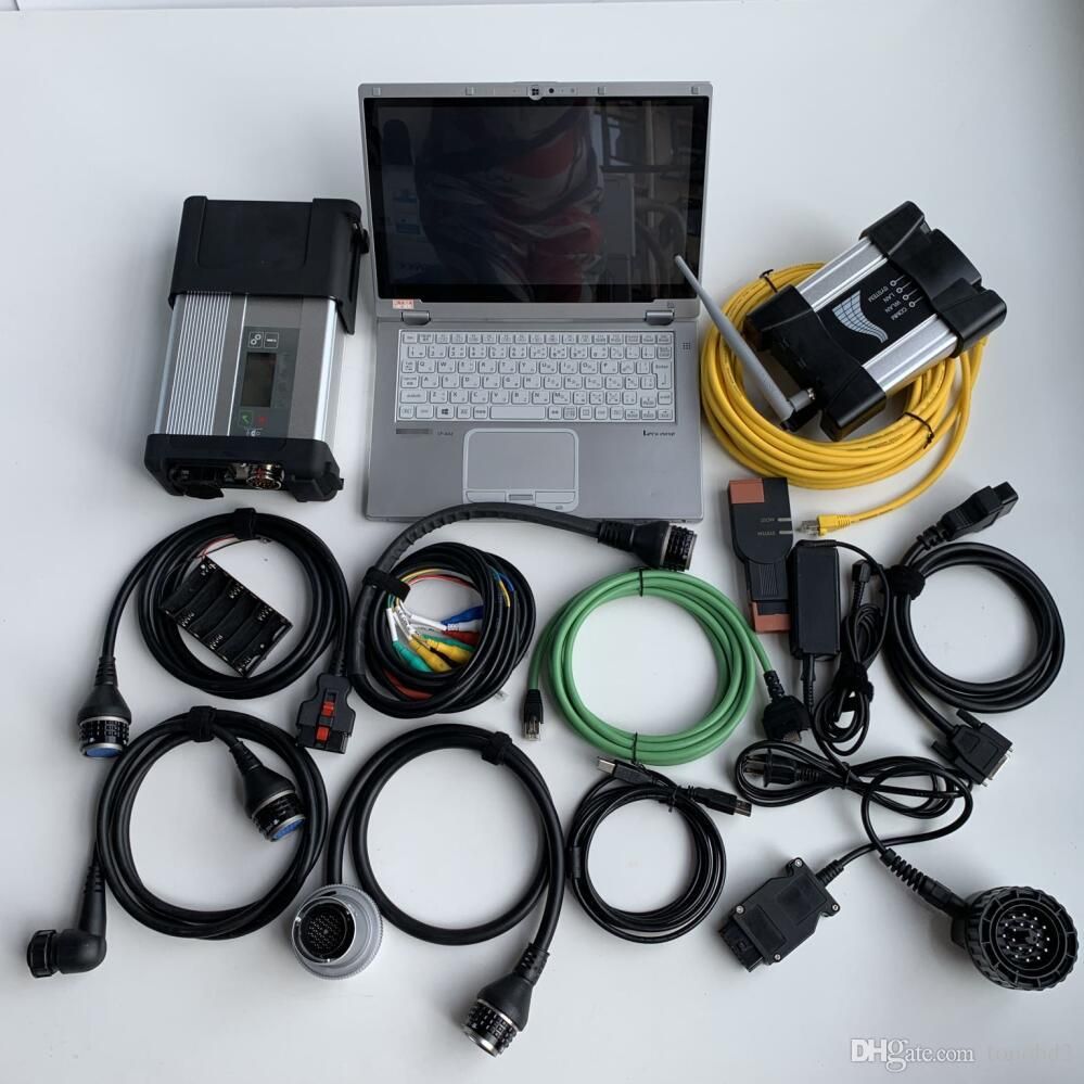 Super 2IN1 mb star c5 for bmw icom wifi next a b c new generation of icom a2 latest sssd 1tb with laptop cf-ax2 win7