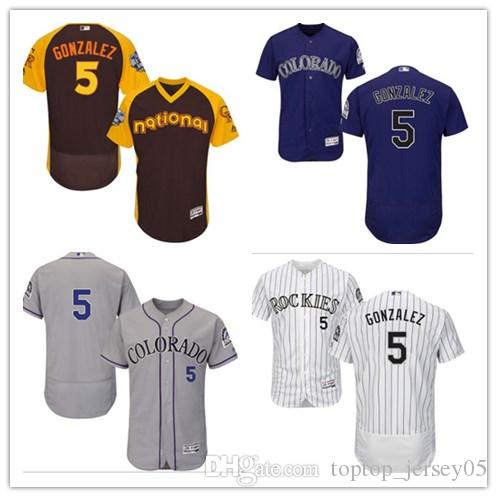 promo code 40b6a 2f4f5 2018 can Colorado Rockies Jerseys #5 Carlos Gonzalez Jerseys  men#WOMEN#YOUTH#Men s Baseball Jersey Majestic Stitched Professional  sportswear