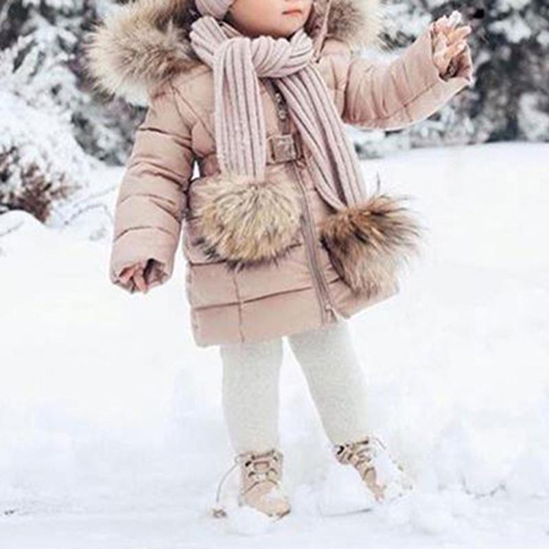 5ea78df34 Cute Winter Warm Waterproof Kids Ski Jackets Baby Girls Long Sleeve ...