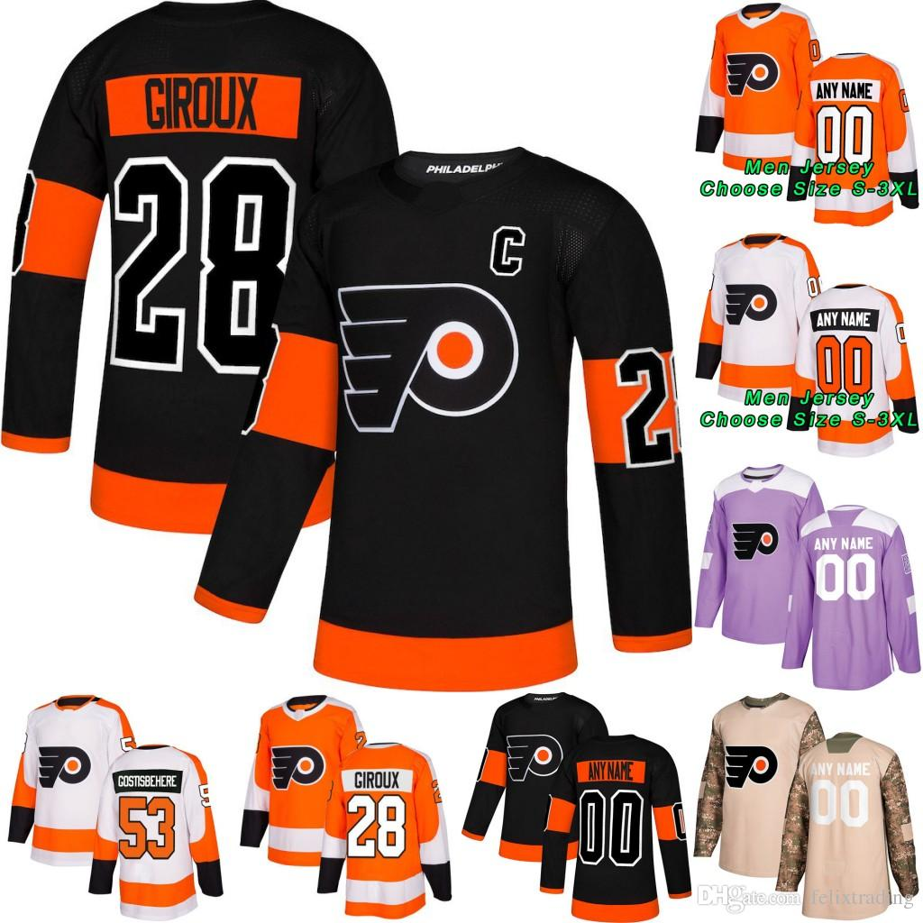 79 Carter Hart Philadelphia Flyers Claude Giroux Sean Couturier ... be0cff288