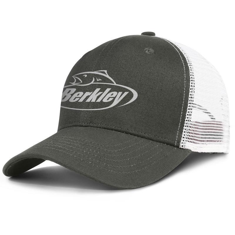 dca80b386 Womens Mens Washed Flat-along Adjustable Berkley Fishing Logo Hip Hop  Cotton Baseball Hats Summer Hats Military Caps Bucket Hat Airy Mesh Ha