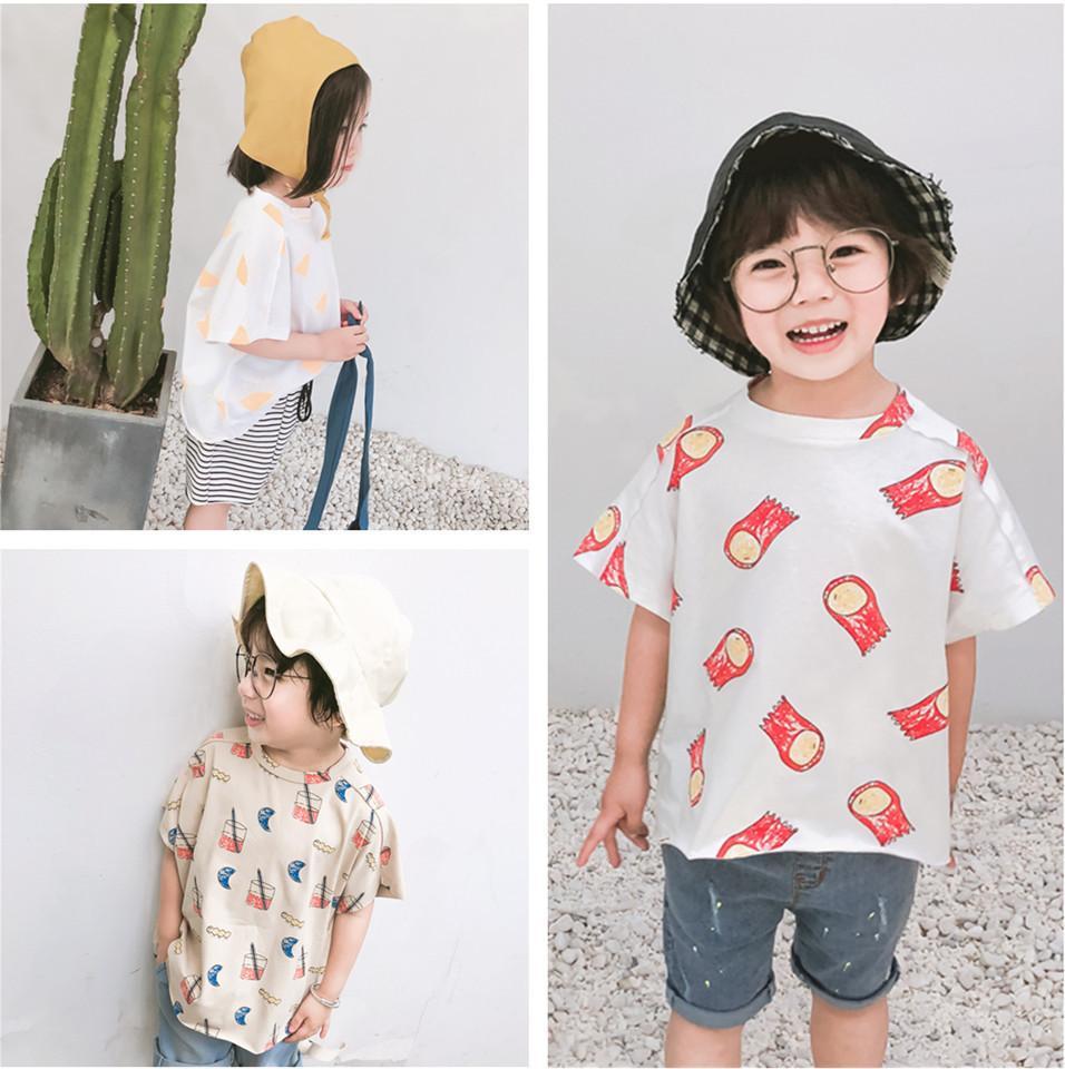 2019 Summer TAO Brand Kids Cotton T Shirt Tops Boys Girls Diamond Meteor  Print Tee T Shirt Children Baby Clothing Bobo Choses UK 2019 From  Textgoods07 df2c00826917