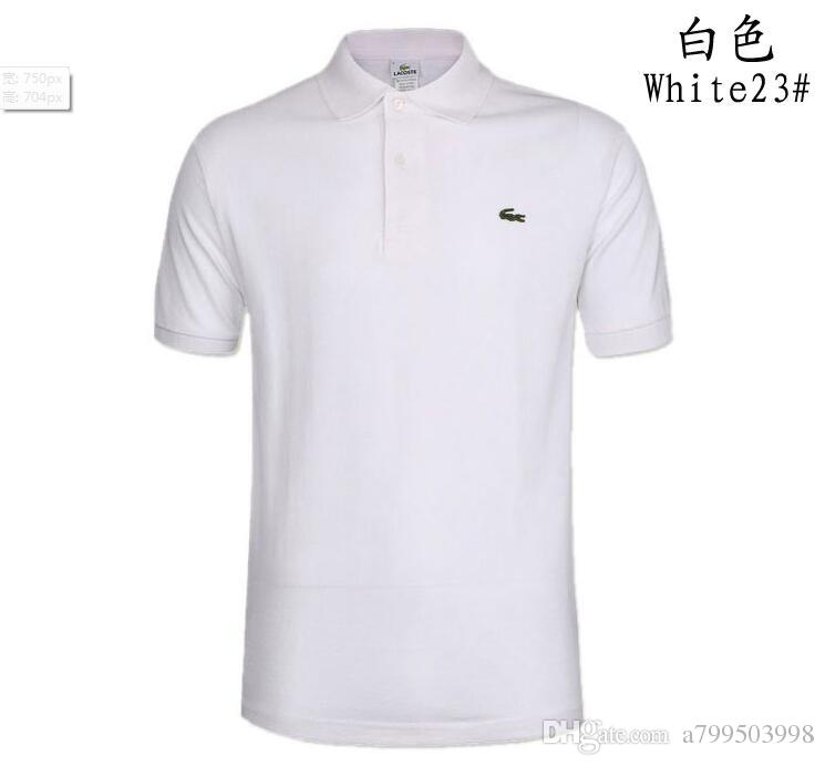 Trend Shirt for Man Women High Polo Street Top Tee Fashion and Professional Designer Summer Polo Shirt Embroidery Mens Polo T ShirtsIte