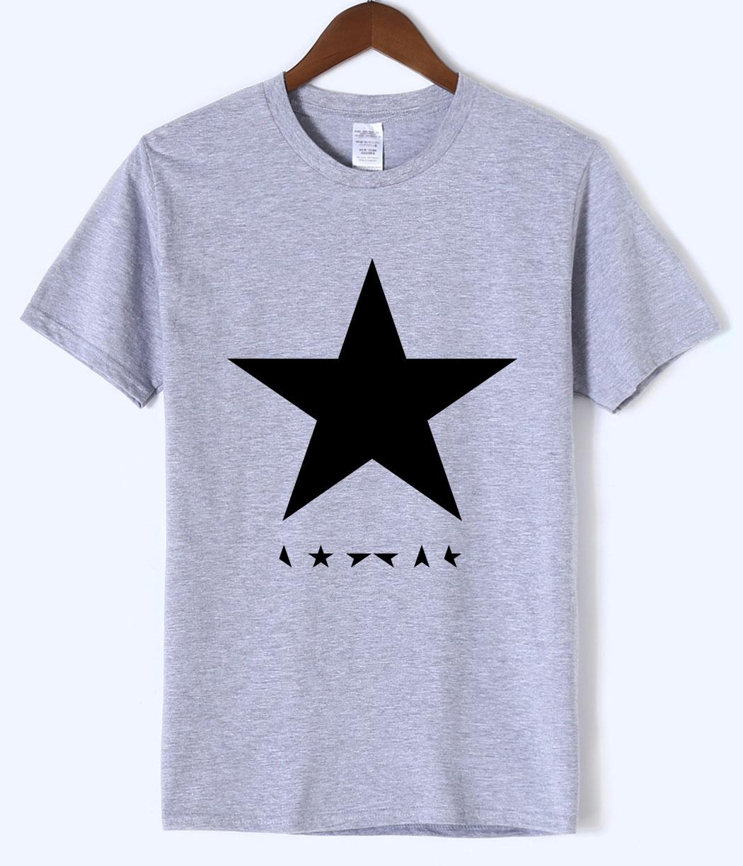 2b569f947 New Design David Bowie Heroes Black Star Posters Top Tees 2019 Summer  Fitness Men s T Shirt 100% Cotton Short Sleeve Men T-shirt