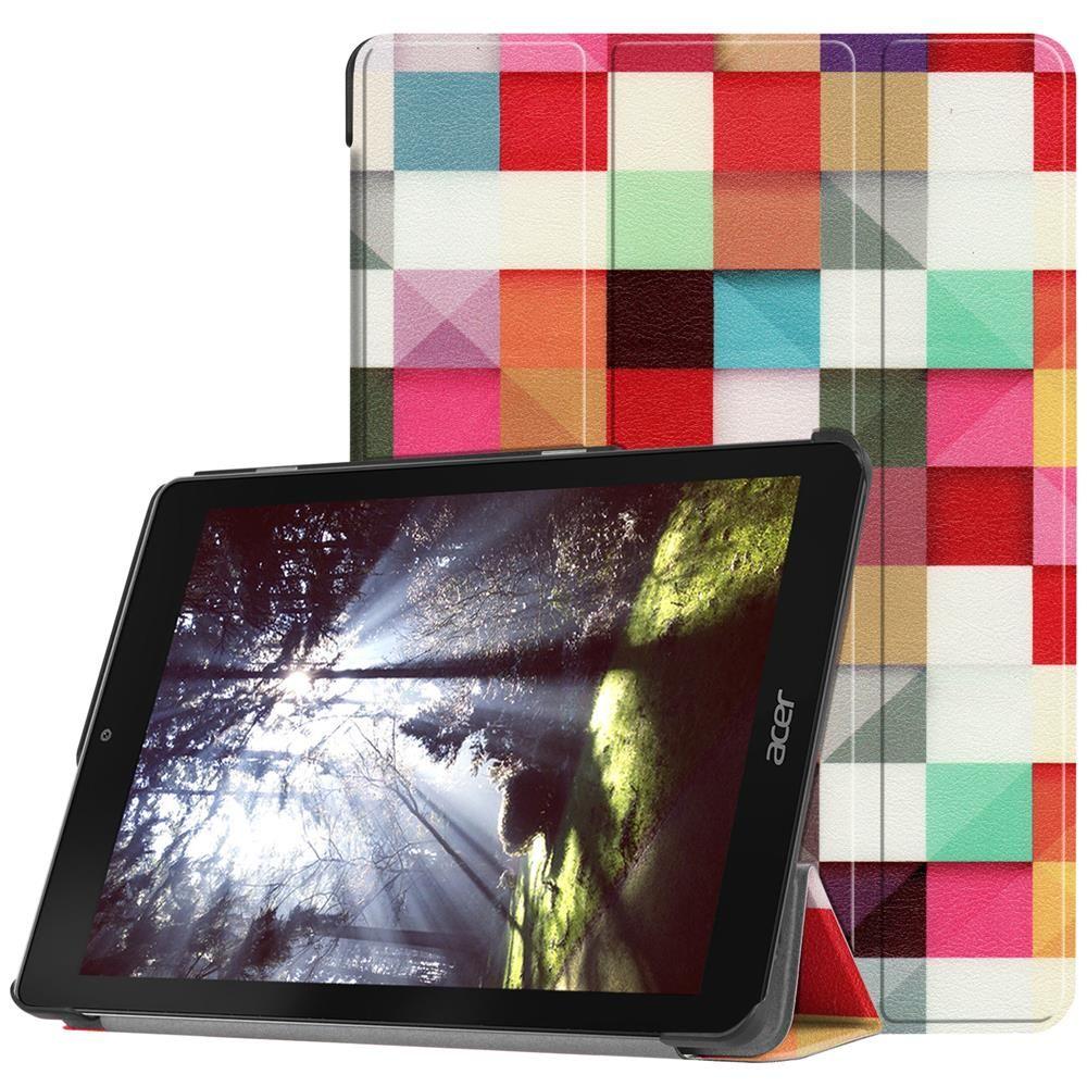 For Acer Chromebook Tab 10 Case,Folio Folding Stand Protective Cover for  Acer Chromebook Tab 10 2018 Tablet