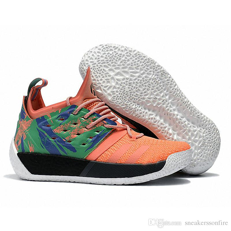 2ca8872b5ca 2019 2019 Hot James Harden 2 Vol.2 California Dreamin AH2219 Mens  Basketball Shoes High Quality Trainer Sport Sneaker Size 40 46 From  Sneakerssonfire
