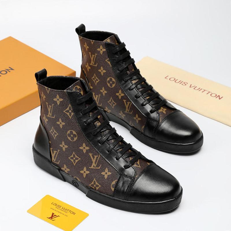 b4897b56dc81a Großhandel Männer Schuhe Sneakers 2019 Mode Zapatos De Hombre TATTOO Match  Up Sneaker Stiefel Heißer Verkauf Herren Schuhe Knöchel Mode Stiefel High  Top ...