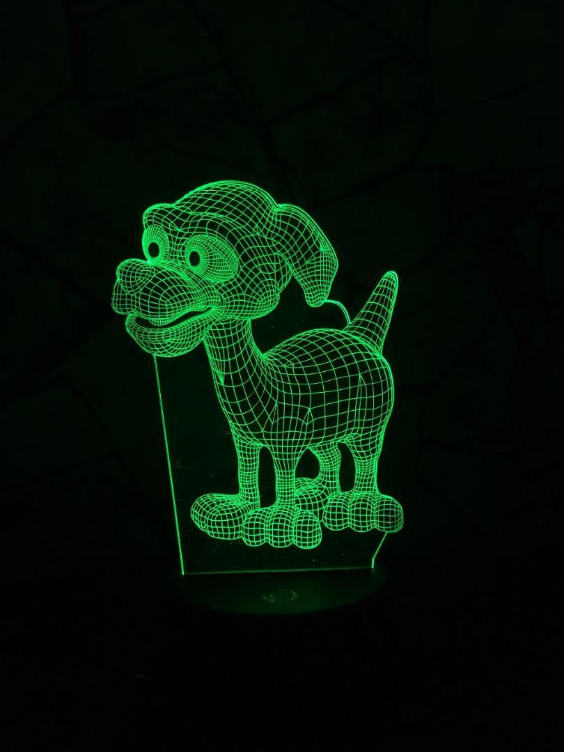 Image of: Stickers 2019 Kawaii Animals Dog 3d Lamp Led Usb Illsuion Mood Night Lighting Multicolor Touch Remote Luminaria Table Desk Baby Bedside Lights From Callaway Dhgatecom 2019 Kawaii Animals Dog 3d Lamp Led Usb Illsuion Mood Night Lighting