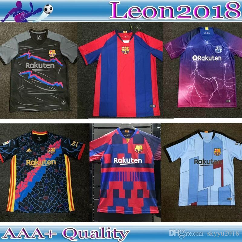 promo code 94159 8696c Best Thai quality 2019 2020 Barcelona Messi soccer jersey 19 20 Special  Edition SUAREZ MALCOM COUTINHO O. DEMBELE football jerseys shirt