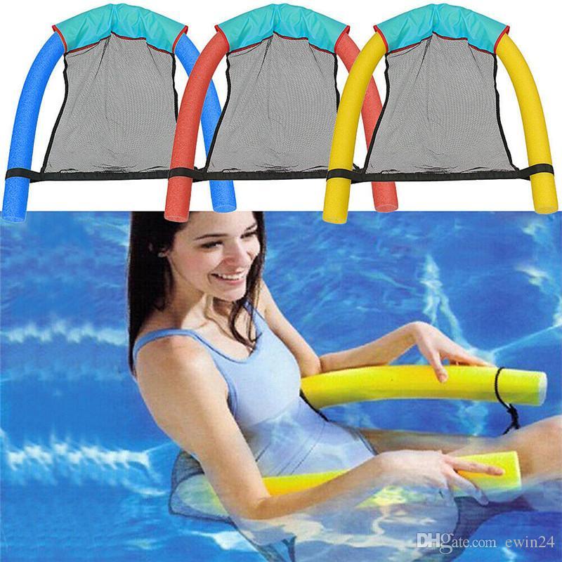 2019 Floating Chair Mesh Hammock Swimming Pool Seats