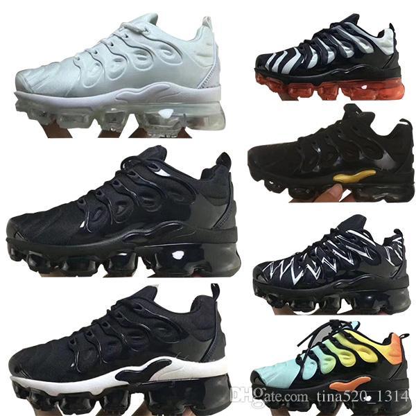 90b732426 Compre Nike 2018 TN Air Plus Bred XI 11S Zapatillas De Baloncesto Para Niños  Gimnasio Rojo Infantil Niños Pequeños Gamma Blue Concord 11 Entrenadores  Niño ...