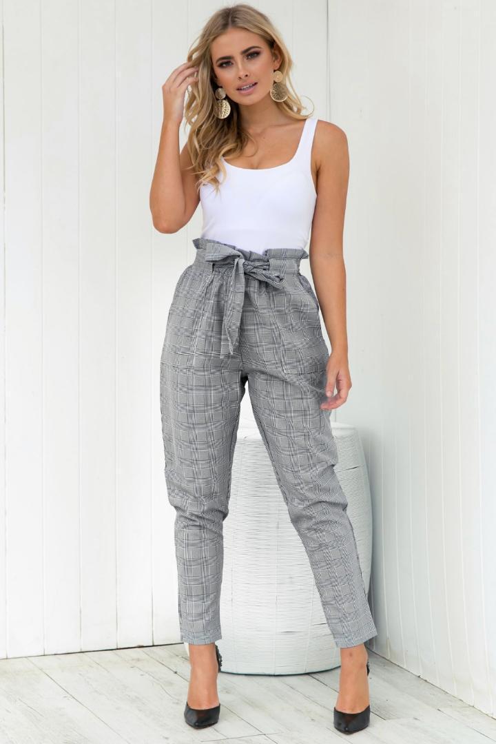 240c766d36d BB KK Streetwear Lattice Harem Pants Capri Ruffle Loose Casual Pants ...