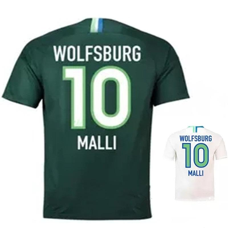 4471df74 2019 Malli VfL Mehmedi ROUSSILLION 2018 2019 Germany Soccer Jersey 18 19  Home Klaus Away Ntep Guilavogui Football Shirts From Fibochow, $21.93 |  DHgate.Com