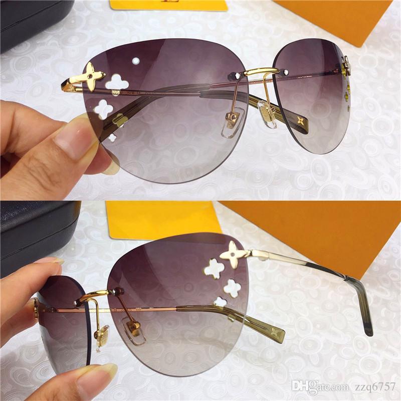 5fee1be3b9 Compre Estilo Clásico De Moda Para Mujer Gafas De Sol 0050 Sin Marco Ultra  Ligero Con Marco De Flores UV400 UV UV A $50.77 Del Zzq6757   DHgate.Com