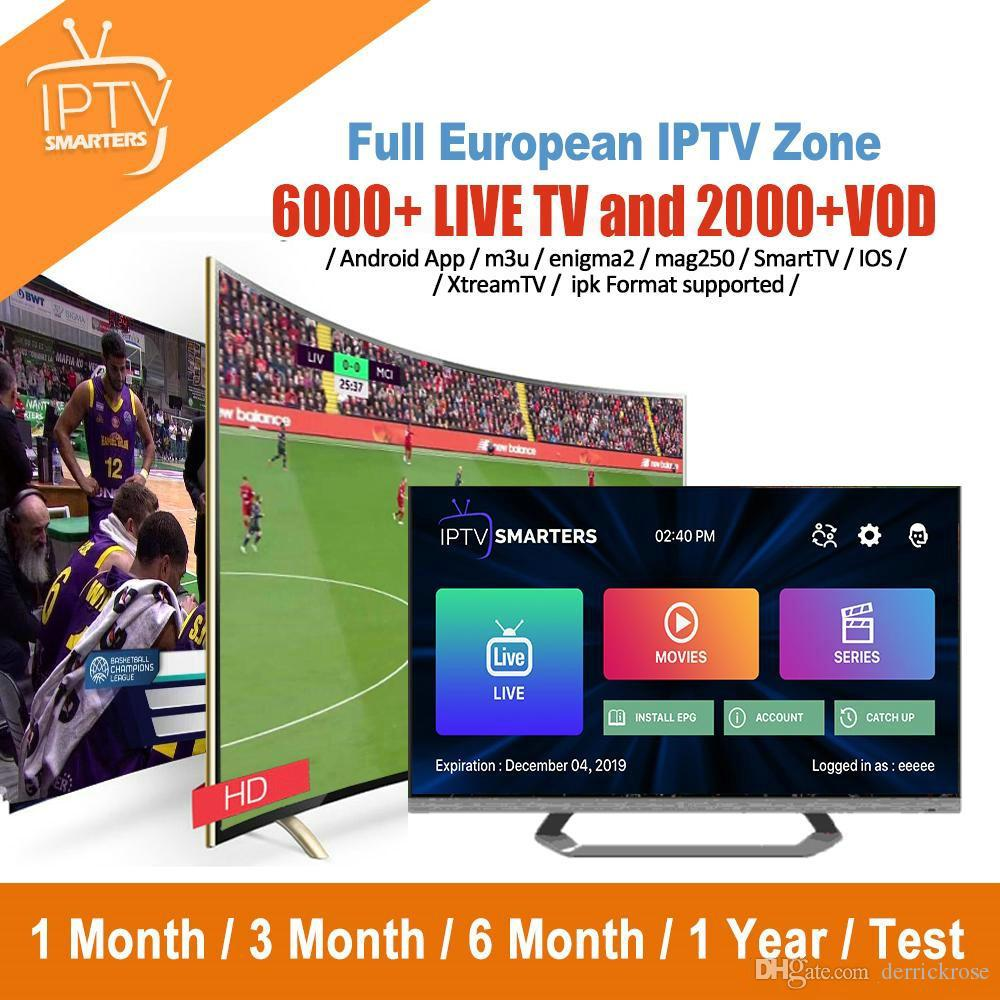 1 Year Global Iptv Subscription For Smart TV M3U Mag Box Android IOS Device  France UK Italy USA Spain Canada Latino Abonnement Iptv