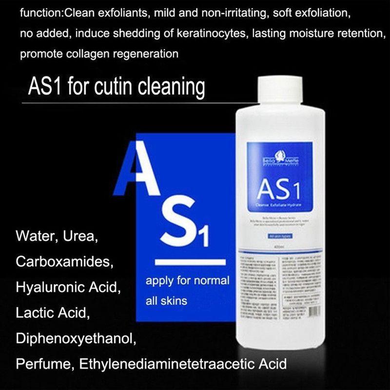 Aqua Peeling Solution 400ml Batter başına Hydra Dermabrazyon Yüz Serumu Normal Cilt DHL Ücretsiz Teslimat