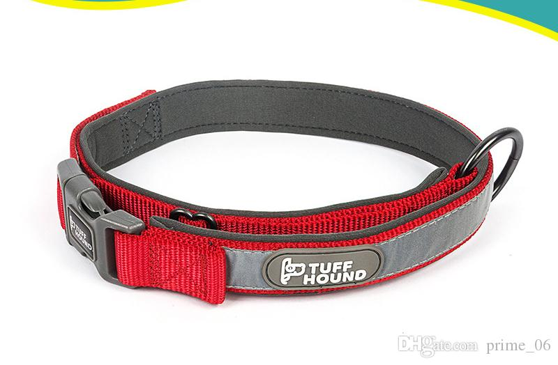 Soft Nylon reflective Collars for pet Dogs cat 3Colors Adjustable Sports Necklace for Small Medium Large Pet Dogs