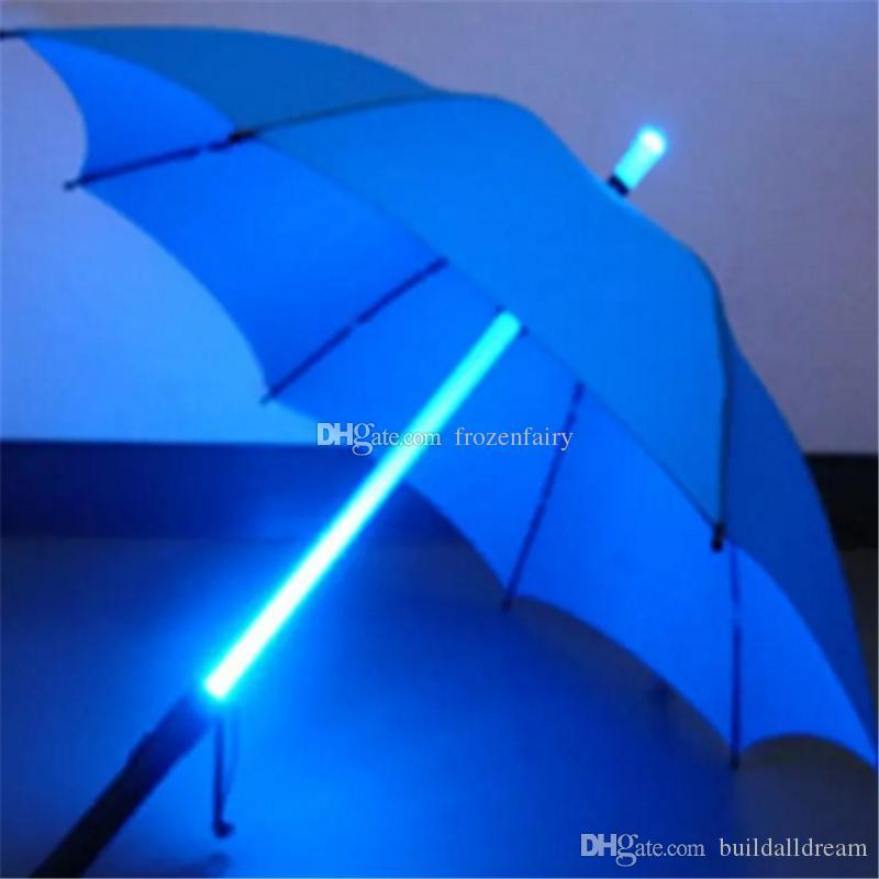 Flash Poche Gratuite Lampe Cool Night Aa964 971 Umbrella Bouteille De Sabre Parapluie Blade Light Rose Runner Led Livraison Walkers wNn08yPvmO