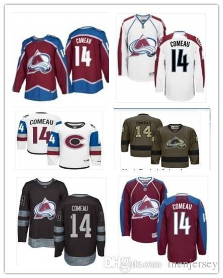 new concept 433e3 2965a 2019 Hockey Jerseys Colorado Avalanche men/women/youth best 14 Blake Comeau  Jersey custom name and number free ship baseball wear