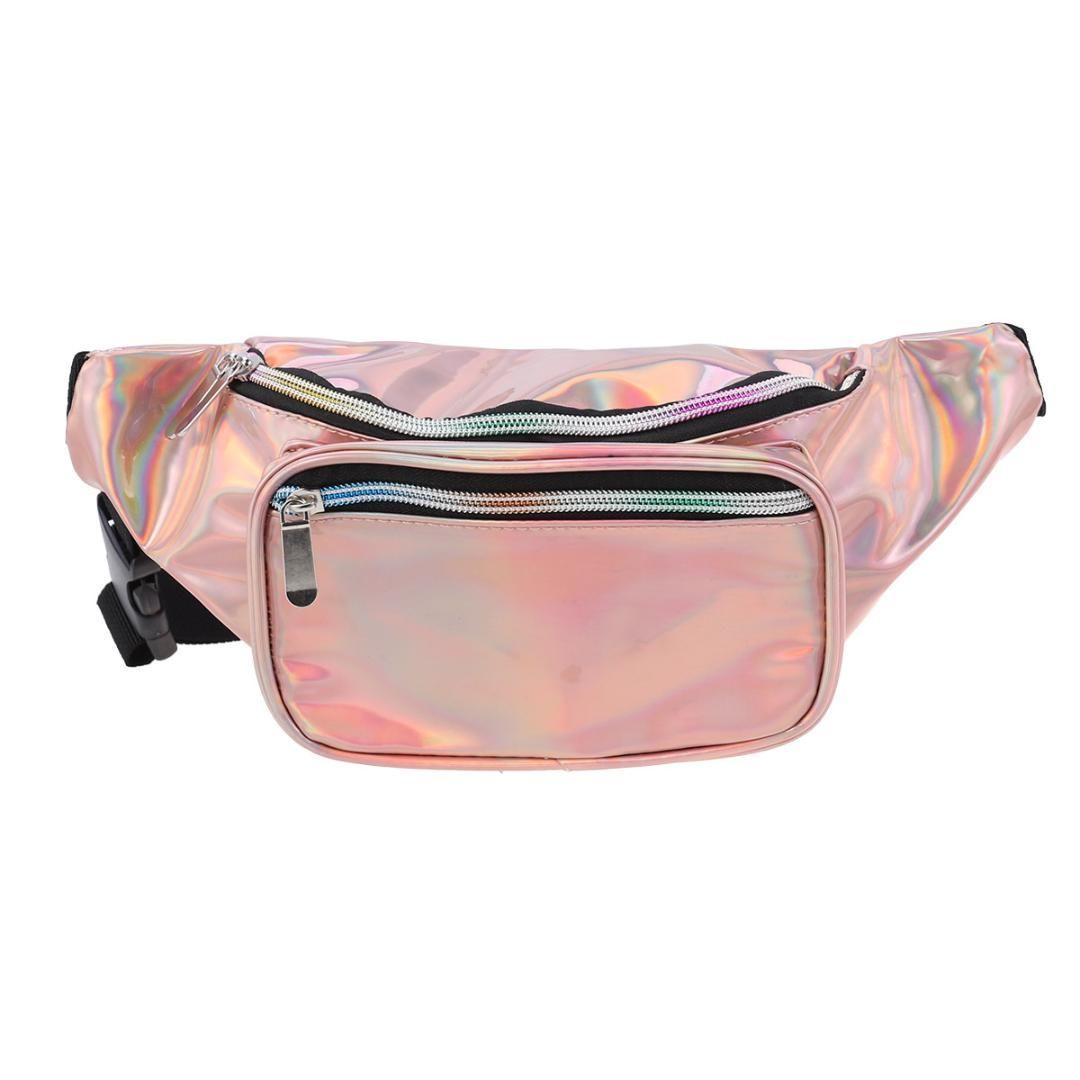 241827046ed0 1PC Casual All-match Stylish Fashion Waist Pouch Travel Bag Belt Bag Waist  for Female Ladies Women Girls