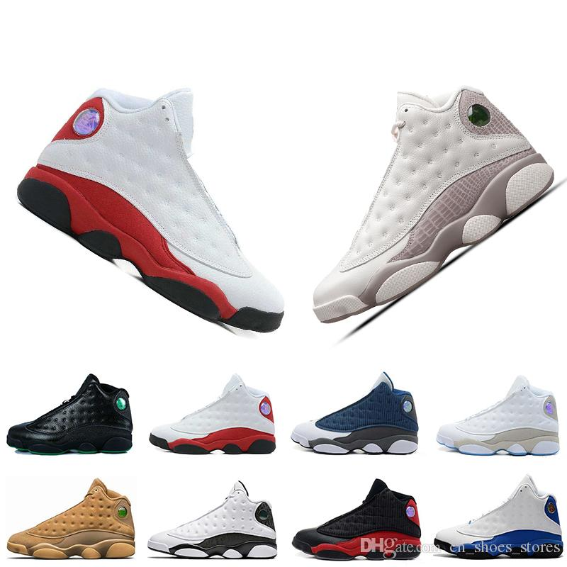 8f20611f725 13 13s Phantom Chicago Men Basketball Shoes XIII Wheat Bred Black Cat Ivory  GS Hyper Captain America Mens Sports Designer Trainers Sneaker Online Shoe  ...