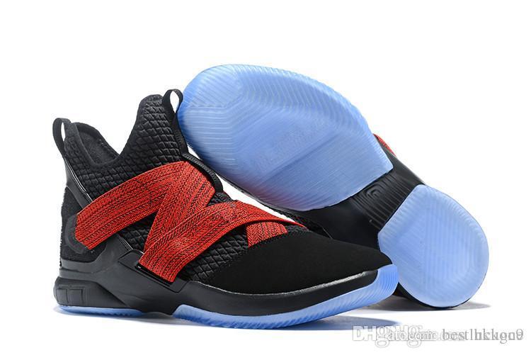 b4a3f527da Compre Zapatillas De Baloncesto De Alta Calidad Atléticas Baratas LeBron  Soldier 12 A $42.22 Del Bestluckone | DHgate.Com