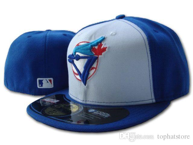 Compre Sombrero De Béisbol De Toronto Para Hombre Gorras Entalladas  Logotipo Del Equipo Deportivo Bordado Azul Jays Blanco Azul En El Campo  Sombreros ... 7bcf1eda16e