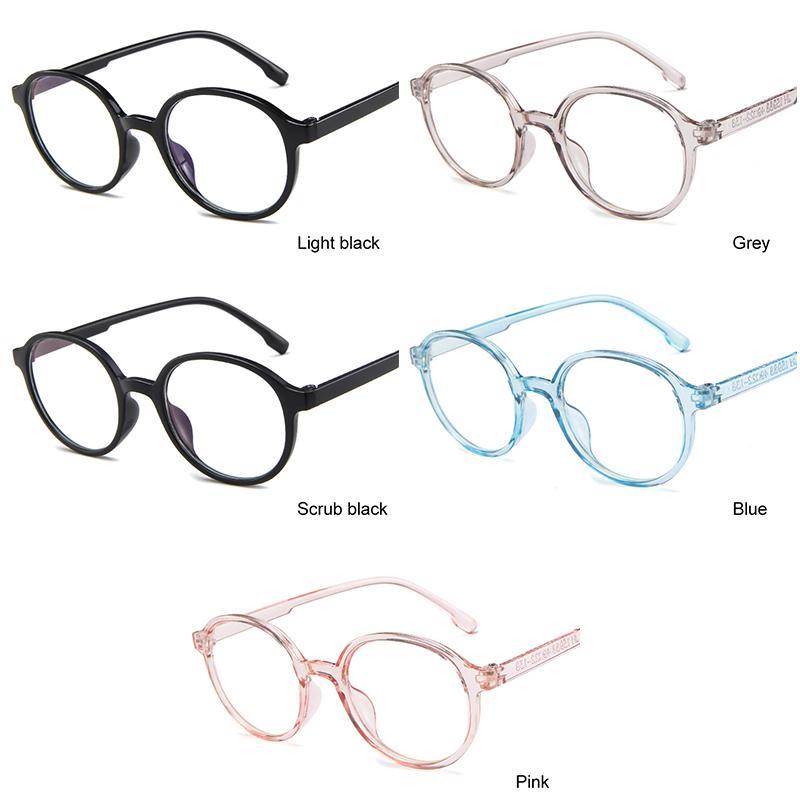 92c39c86df Compre Gafas Redondas De Moda Marco Transparente Mujeres Espectáculo Miopía  Gafas Hombres Gafas De Vista Marco Empollón Marcos Ópticos Borrar A $35.88  Del ...