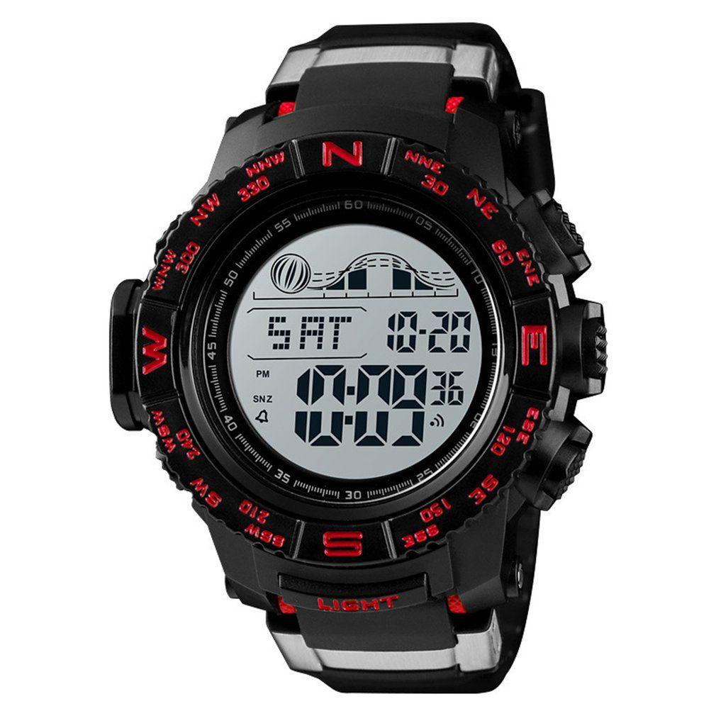 Digital Despertador Reloj Multifunción 50 M Top Deportivo Aire Libre Dropshipping Electrónico Marca Impermeable Al Led CBoedx