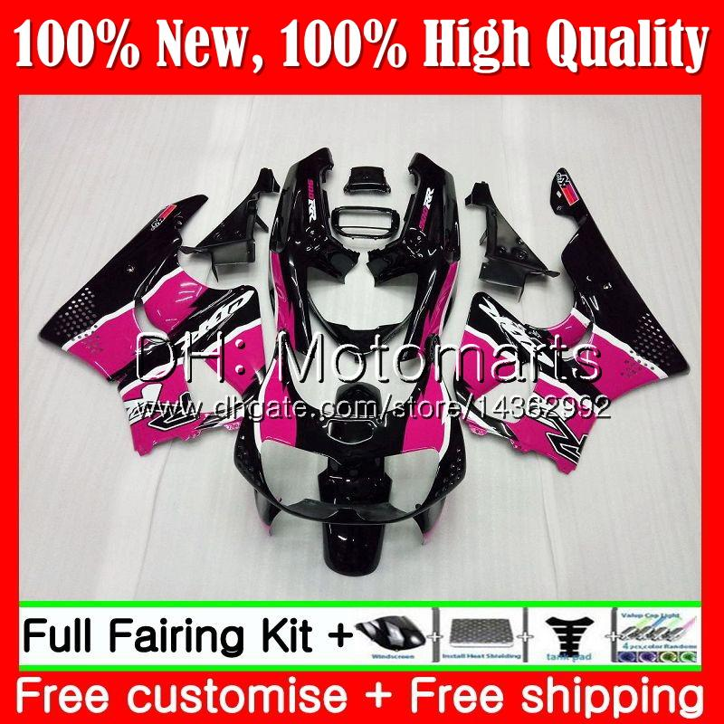 Body For HONDA Rose black CBR 893RR CBR900RR CBR893RR 94 95 96 97 71MT22 CBR 893 RR CBR900 CBR893 RR 1994 1995 1996 1997 Fairing Bodywork