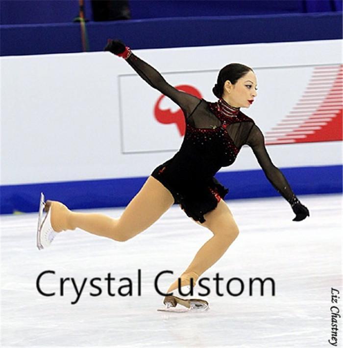 3c2b210dd Vestido de patinaje artístico para adultos Nueva marca Vestidos de patinaje  sobre hielo a medida para la competencia DR4836