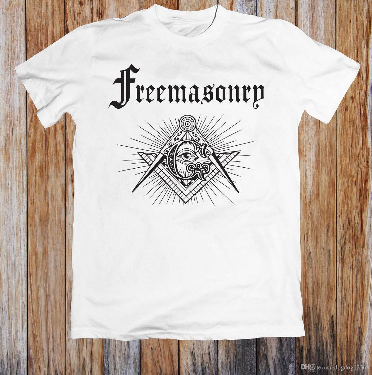 1107f6c4 FREEMASONRY MASONIC BLUE LODGE LOGO UNISEX T SHIRT Business Tee Shirts  Printing Coolest T Shirts Online From Jie67, $14.67  DHgate.Com