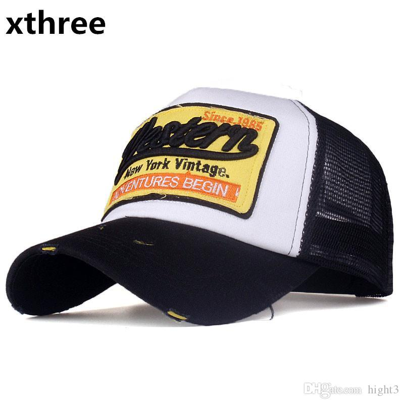 b7ae1c4db4d Xthreesummer Snapback Hat Baseball Cap Mesh Cap Cheap Cap Casquette Bone Hat  For Men Women Casual Gorras Beanies Kangol From Hight3