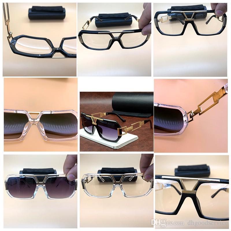 Büyük Çerçeve Gazelle Güneş Vintage Unisex Metal Polarize Gözlük Büyük Başları Için Ekstra Geniş Gözlük Lüks Tasarımcı Bisikle ...
