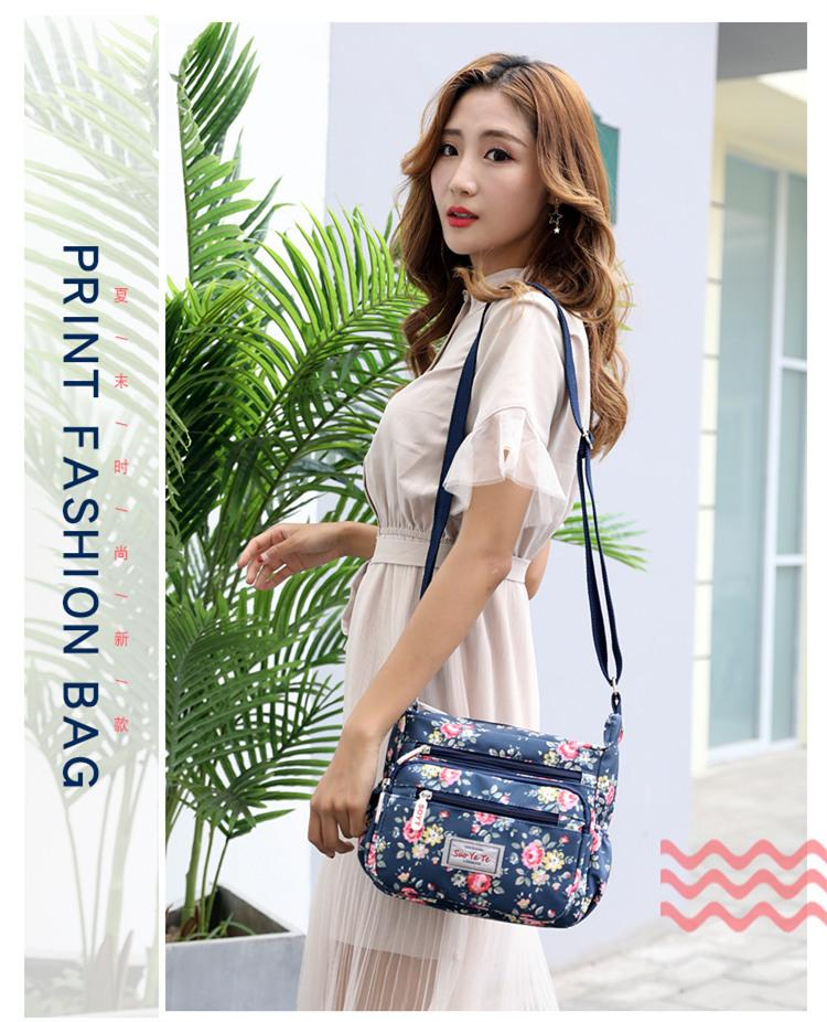 2018 Woman Nylon Bag Crossbody Waterproof Beach Women Famous Brands Messenger Bags Handbags For Bolsa Feminina Bolsos Mujer Sac