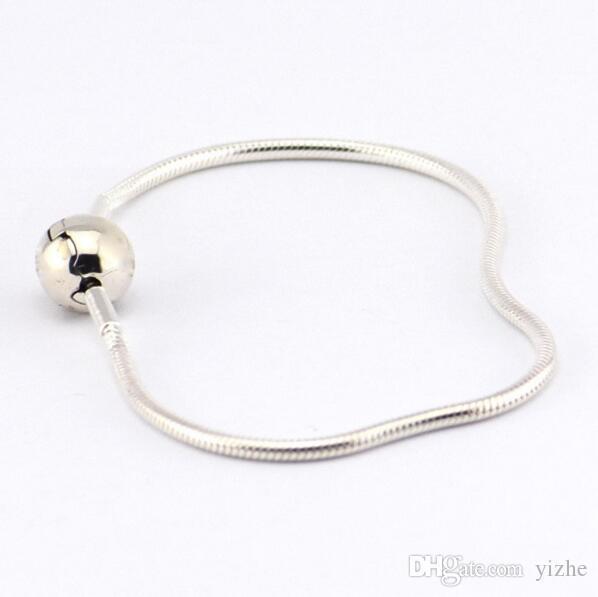 f776dc7ea4db Fit pandora essence pulsera de serpiente en plata 925 pulsera de cadena de  serpiente con zafiro cz pavimentada con logotipo grabado para boda