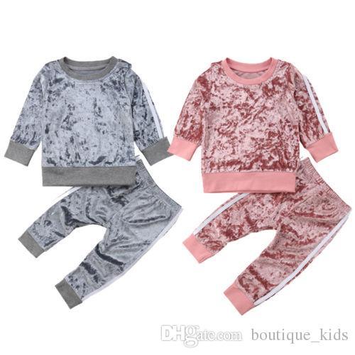 5d51b35898cc 2019 Toddler Girl Clothes Kids Baby Girls Clothing Autumn Spring ...