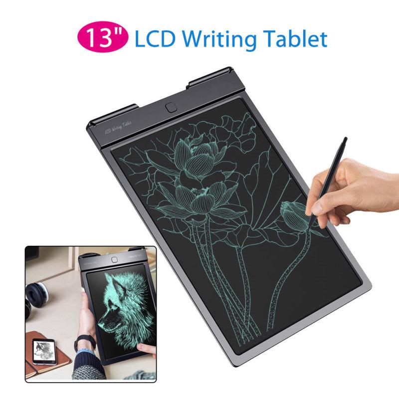 13 Inch Smart LCD Writing Tablet Handwriting Pads Portable Drawing Handwriting for Kid Children Gifts