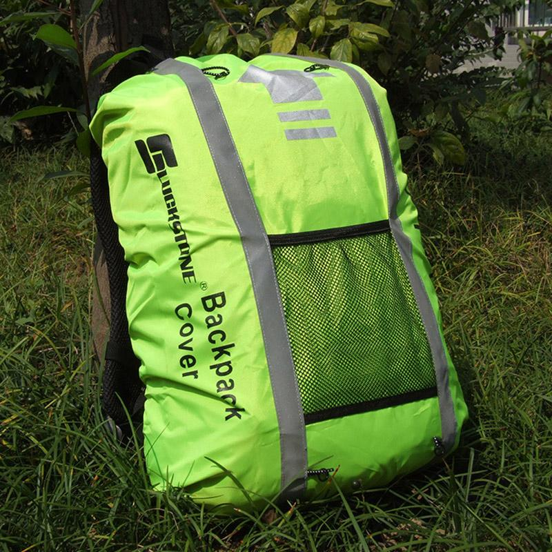 526817ae2390 Outdoor Cycling Sports Backpack Rain Cover Reflective Waterproof Dustproof  Anti Dirty Bag Cover Riding Travel Climbing Bags Hiking Backpack Swiss Gear  ...