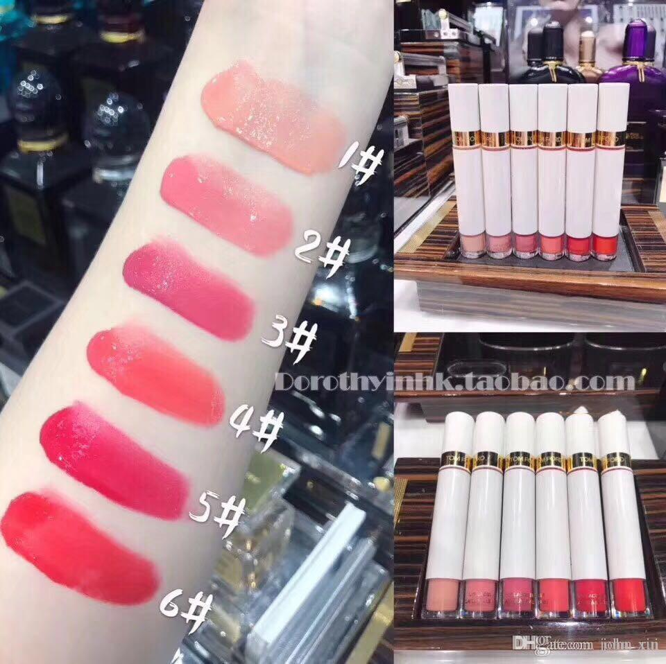 2019 New Famous brand lip makeup lipgloss sets Do not cross 6 Colors Lip  Gloss 6 in 1 kit DHL free shipping