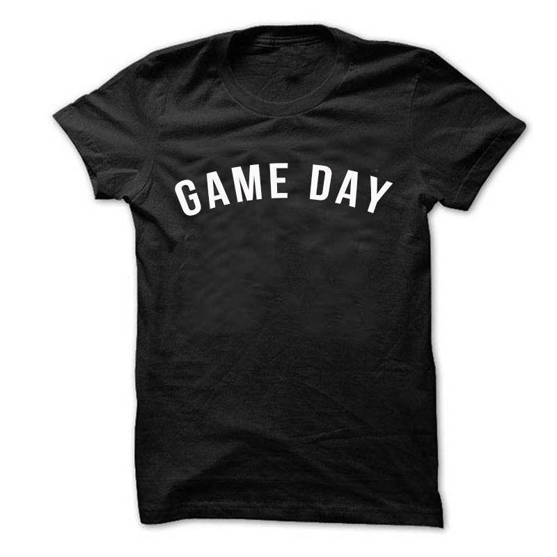 8c539267 Game Day Shirt Football Mom T Shirts Baseball Mom Shirts Game Day TeeFunny  Unisex Casual Tshirt Funny Graphic T Shirts Funny T Shirts For Sale From ...